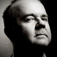 r Headshot of Ian Hislop by Pete Bartlett