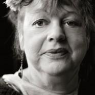 r Headshot of Jo Brand by Pete Bartlett