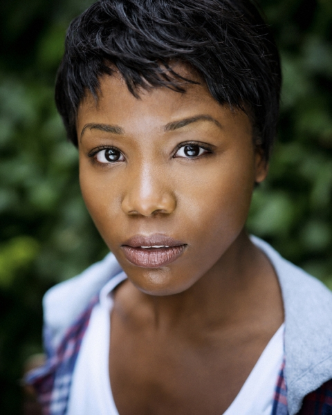 Retouched Headshot of Lasharne Anderson
