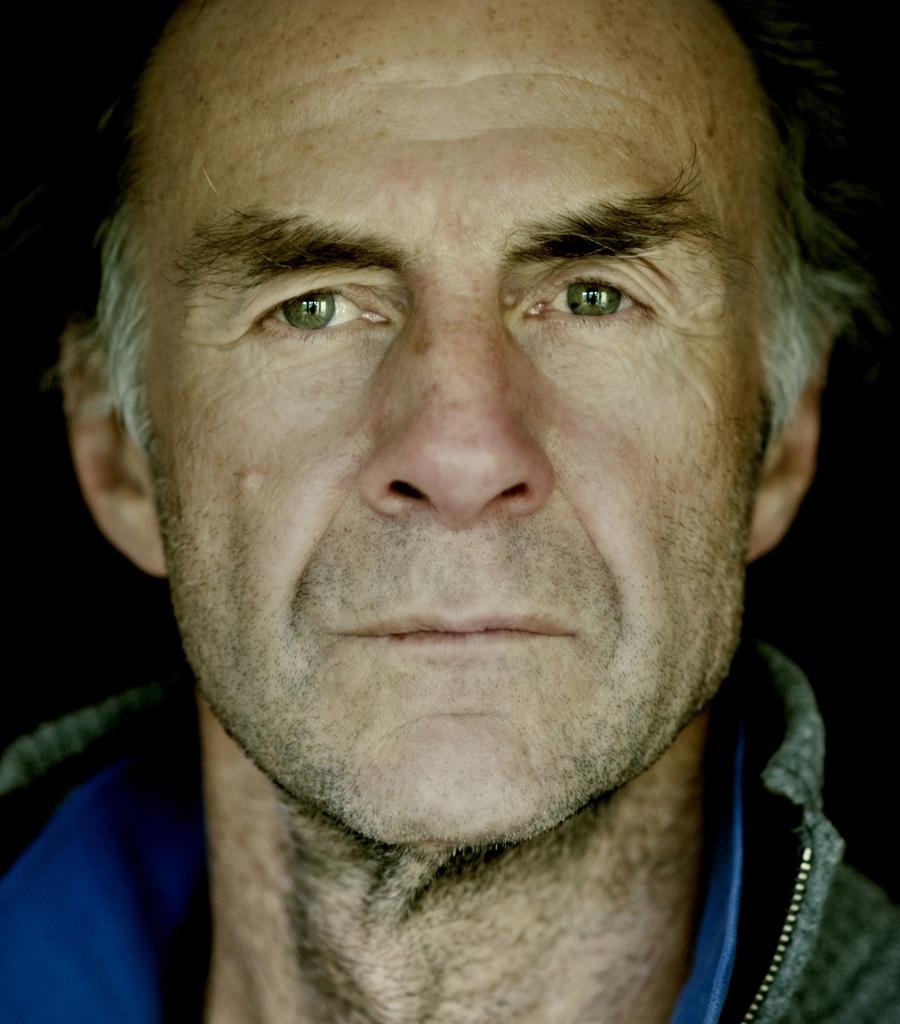 Sir Ranulph Fiennes Portrait by Pete Bartlett