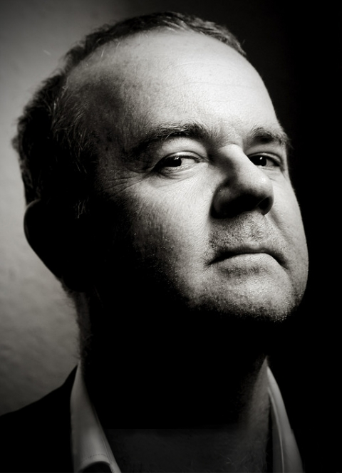 Ian Hislop by Pete Bartlett