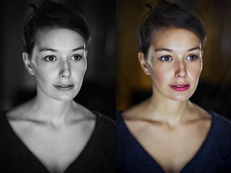 Colour Actor Headshots by Pete Bartlett